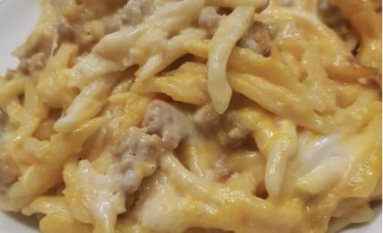 trofie-zucca-salsiccia-al-forno:-due-ingredienti-e-il-tocco-in-piu-per-la-felicita