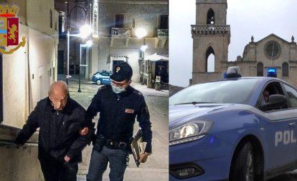 matera:-la-polizia-di-stato-aiuta-un-anziano,-di-notte,-a-rientrare-a-casa