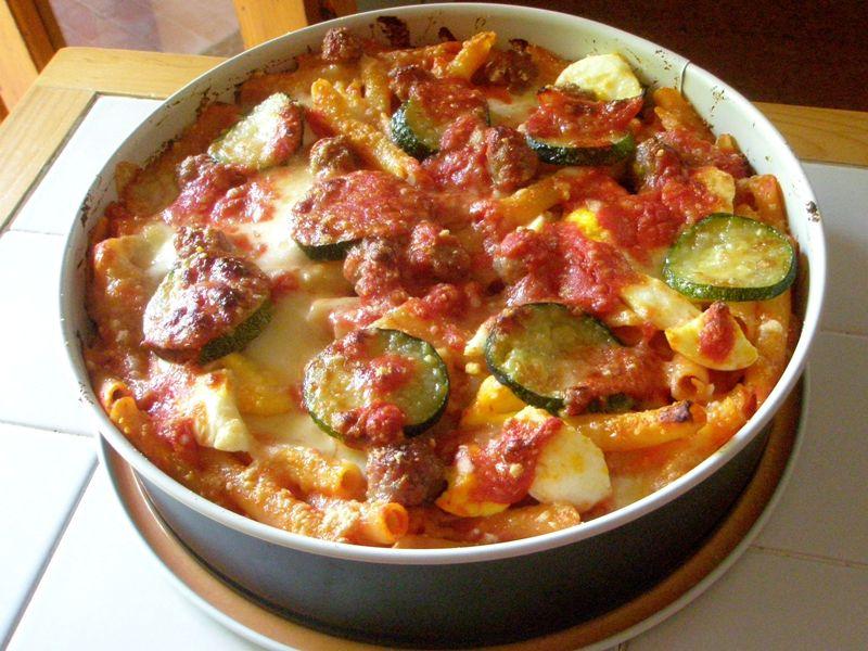 ziti-al-forno-con-polpettine-e-zucchine,-il-piatto-della-domenica-semplicissimo-da-realizzare,-una-idea-originale-per-carnevale