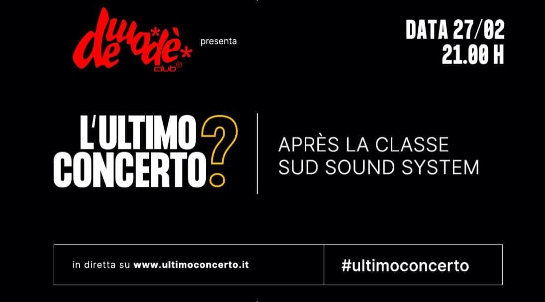 """il-demode-club-ospita-apres-la-class-e-sud-sound-system-per-l'iniziativa-""""l'ultimo-concerto?"""""""