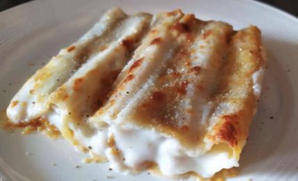 cannelloni-zucca-e-salsiccia-al-forno:-un-primo-goloso-da-preparare-anche-prima.-ecco-il-segreto-per-un-ripieno-che-si-scioglie-in-bocca