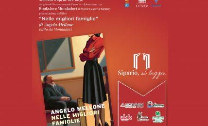a-taranto-in-anteprima-nazionale-il-nuovo-romanzo-di-angelo-mellone:-presentazione-in-streaming-il-6-aprile