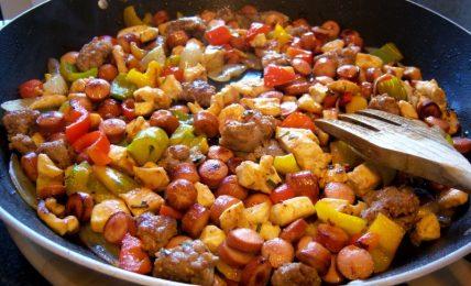 bocconcini-di-carne-e-verdure,-il-secondo-piatto-dell'ultimo-minuto,-colorato-e-saporito