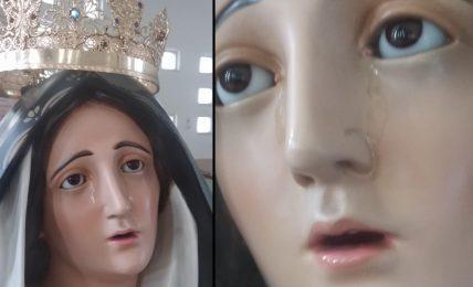 """presunta-lacrimazione-statua-dell'addolorata-a-pisticci-scalo.""""nessuno-gridi-al-miracolo"""""""