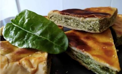 tortino-salato-parmigiano,-delicato-e-appetitoso,-con-ricotta-e-bietole