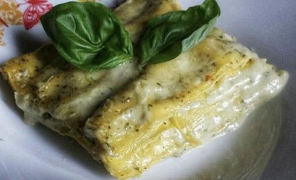 lasagne-al-pesto-ligure-e-ricotta:-cremosa-e-succulenta.-pochi-ingredienti-per-la-felicita