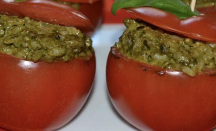 risotto-al-pesto-di-basilico:-ricettina-estiva-e-fresca.-ottima-sempre