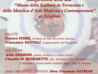 san-severino-lucano,-inaugurazione-ufficiale-museo-della-scultura-in-terracotta-e-della-maiolica-d'arte-moderna-e-contemporanea
